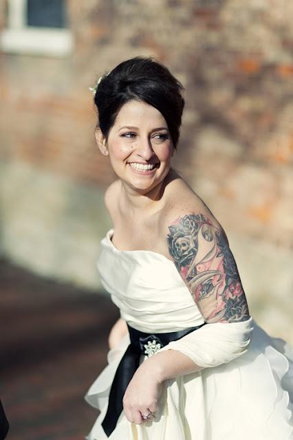 Noivas tatuadas!